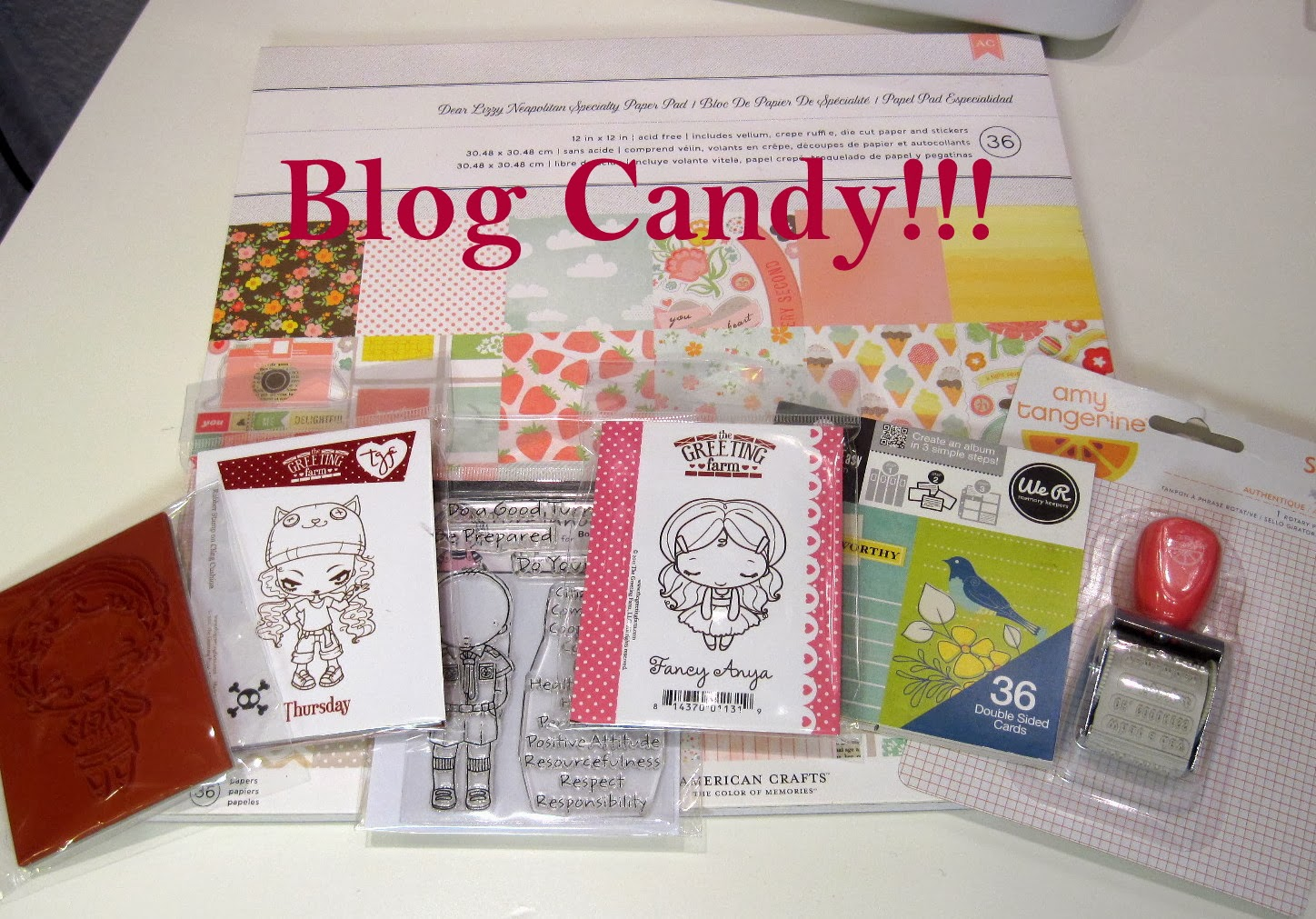 Christmas Blogcandy Rachel!!
