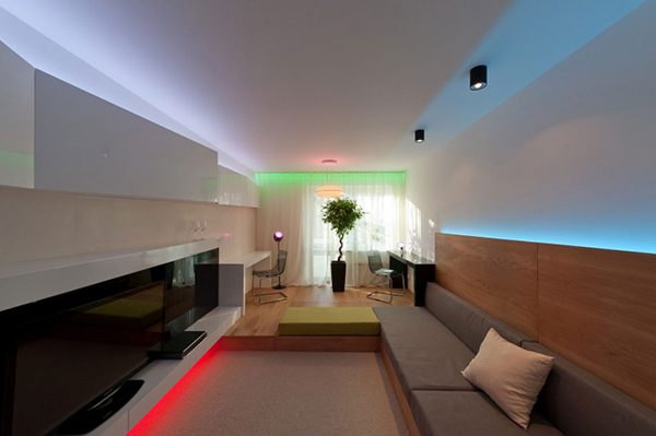 Hogares frescos un sistema de iluminaci n que trae - Sistemas de iluminacion interior ...