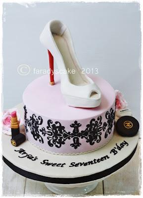 Christian Louboutin Cake Topper