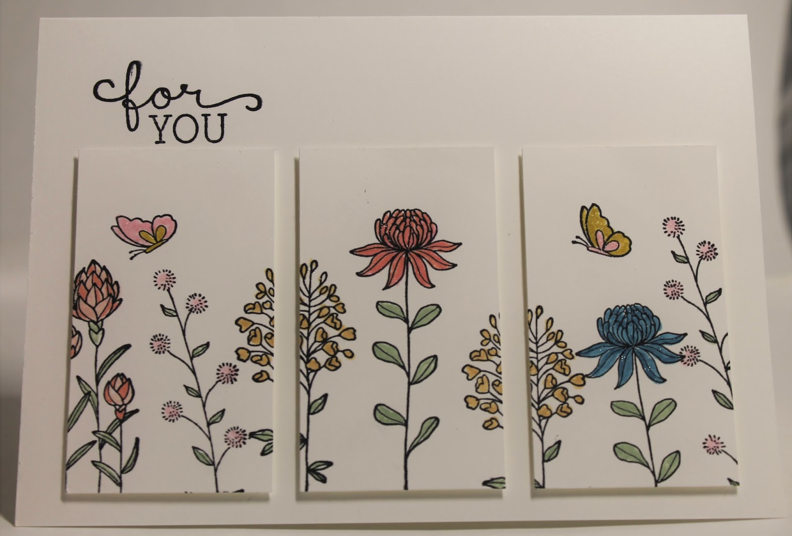 Stampin' Sarah!: A Flowering Fields Panel Card from ...