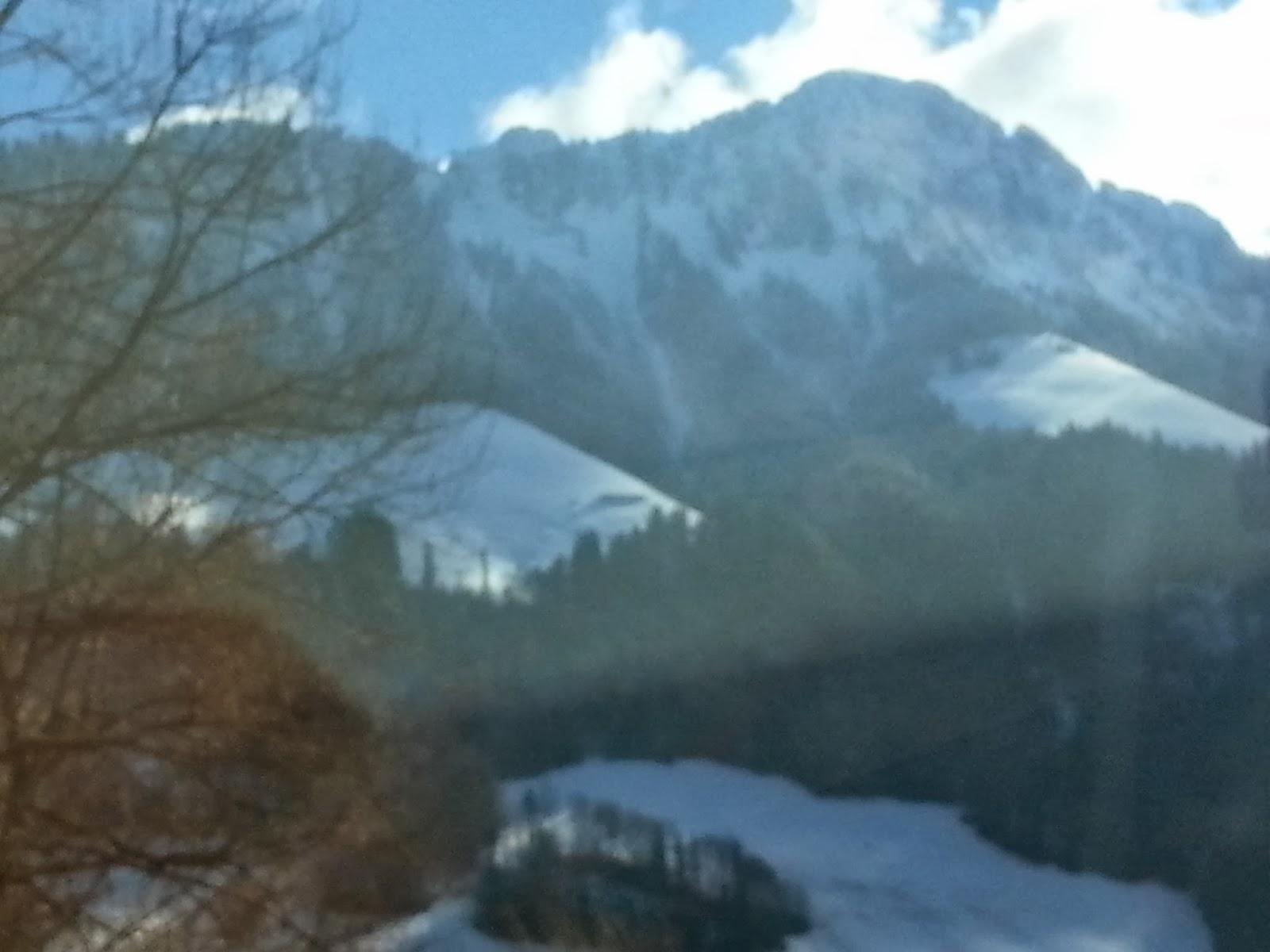 Semana de sol brilhando na Suíça.