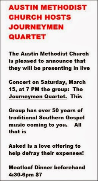 3-15 Austin Methodist Church Concert