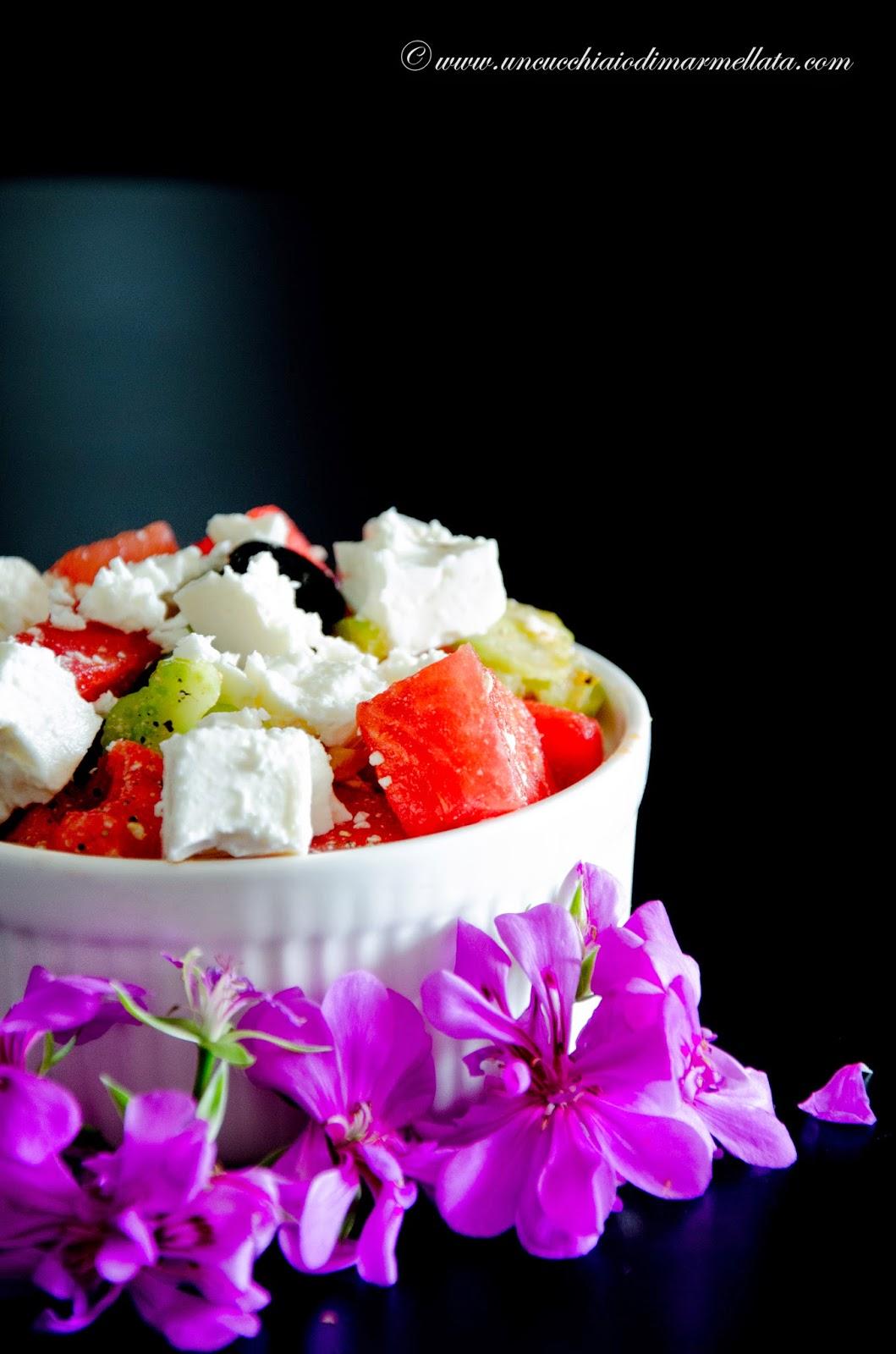 insalata estiva di anguria