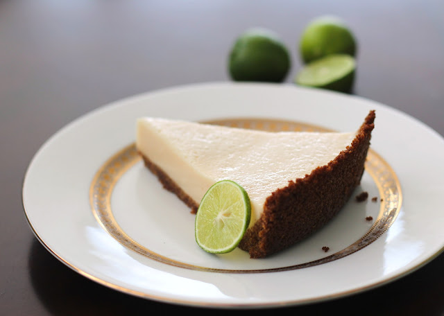 Healthy Key Lime Pie