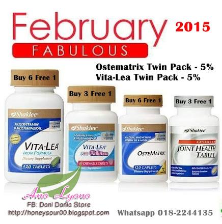 Promo Februari 2015
