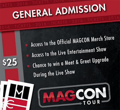 MAGCON TOUR 2016 CAMERON DALLAS TICKETS AND DATES
