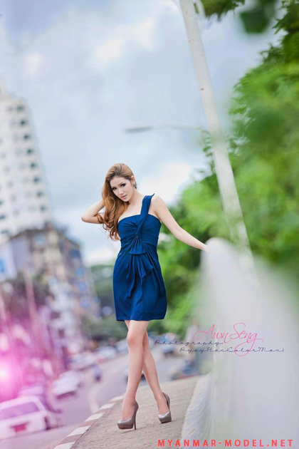 Myanmar Model Awn Seng