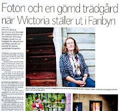 Jag och mina foton är på Kultursidorna i Länstidningen Juli 2012
