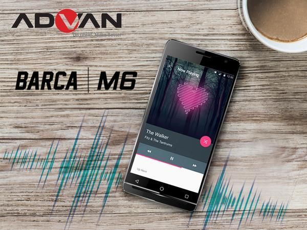 Advan Hifi M6 Smartphone musik terbaik
