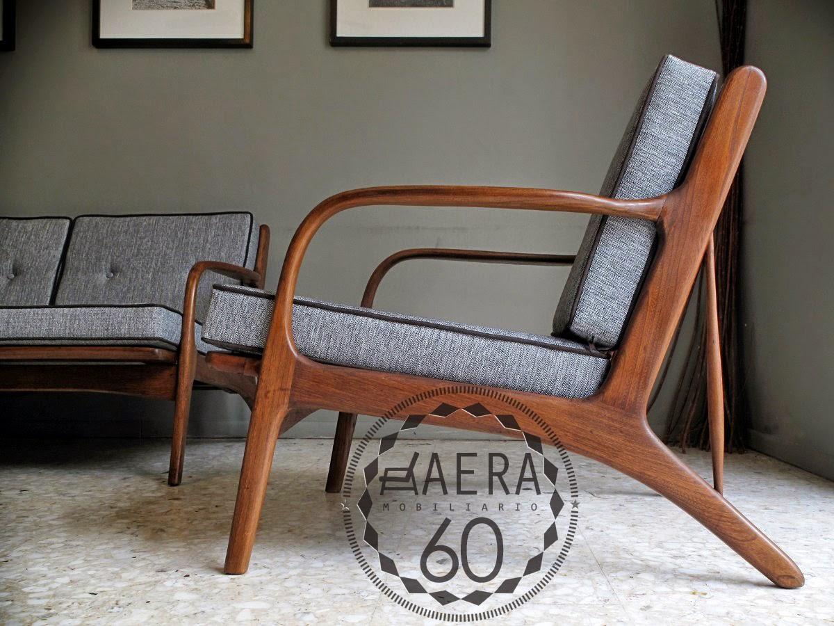 Aera60 mobiliario sala maliche estilo danes - Sillones vintage retro ...