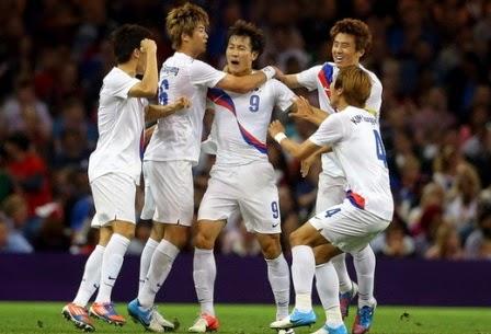 Korea Selatan vs Aljazair