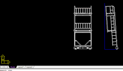 cara membuat layout autocad