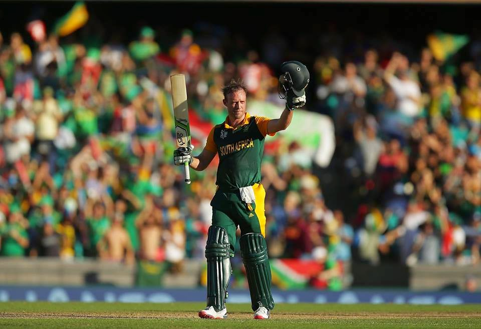 AB de Villiers hits fastest 150 runs in ODI's,