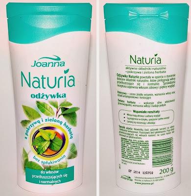 Joanna Naturia, odżywka z pokrzywą i zieloną herbatą (bez spłukiwania)