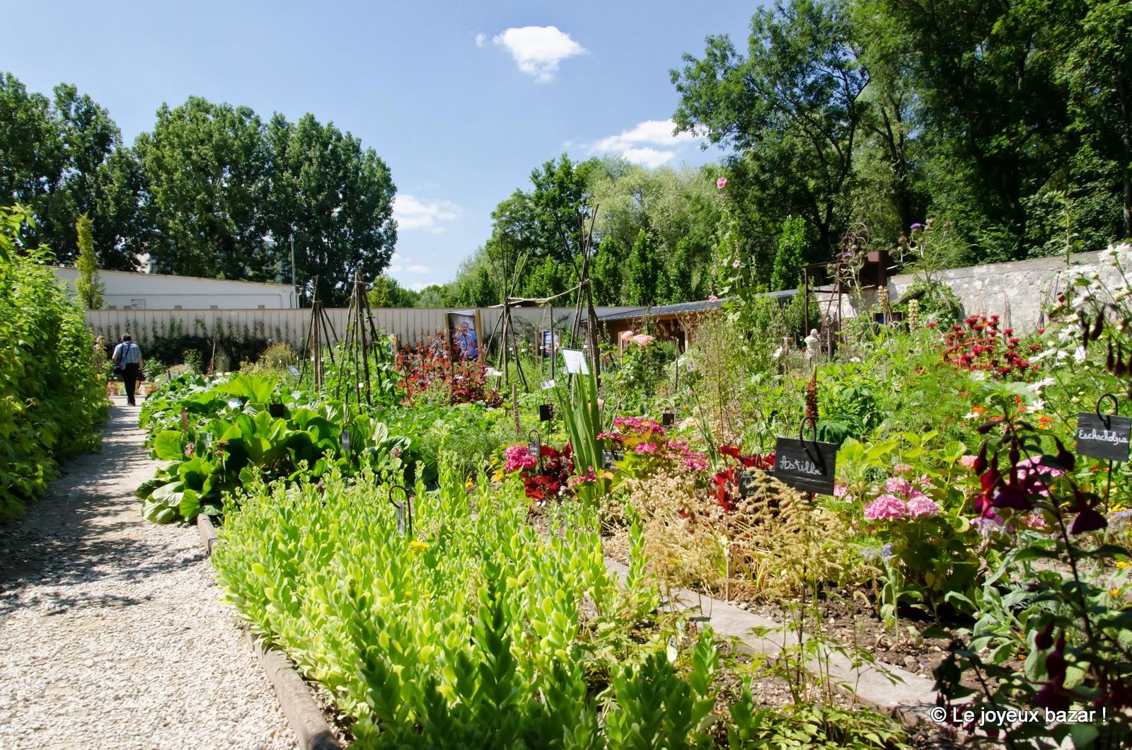 Yerres - propriété Caillebotte - jardin potager