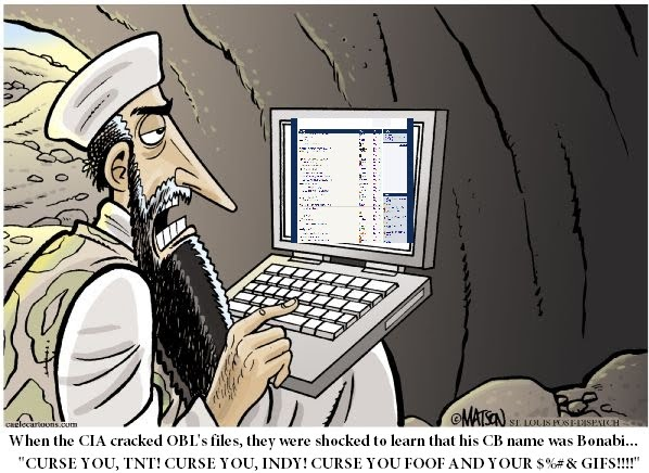 bin laden cartoon. Oh Bomba Bin Laden cartoon 1