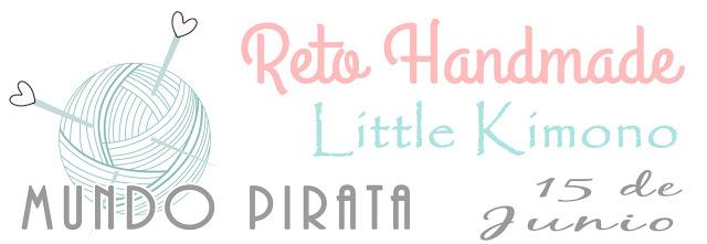 Reto Handmade Mundo Pirata. Apresentação em 15/6/18.