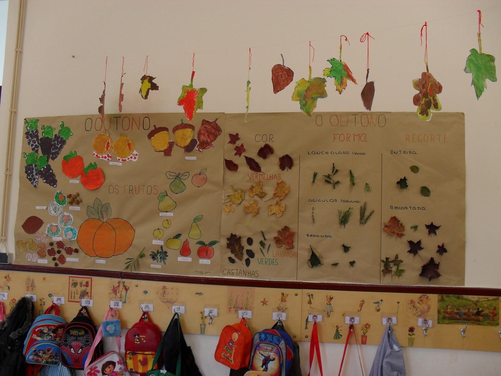 ideias para o outono jardim de infancia : ideias para o outono jardim de infancia:Janela Mágica no Pré-Escolar: Jardim de Infância de Casas Novas