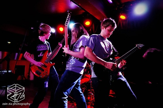 Revival: melodic metal quartet from Manchester, UK played in E109 of the ArenaCast