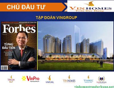 Tập đoàn Vingroup-Chủ đầu tư uy tín