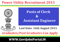 Power Utility Recruitment 2015