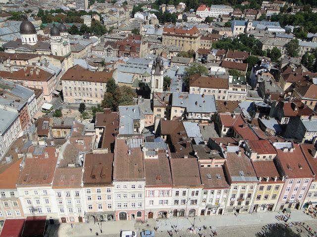 Lviv Roofs, Western Ukraine
