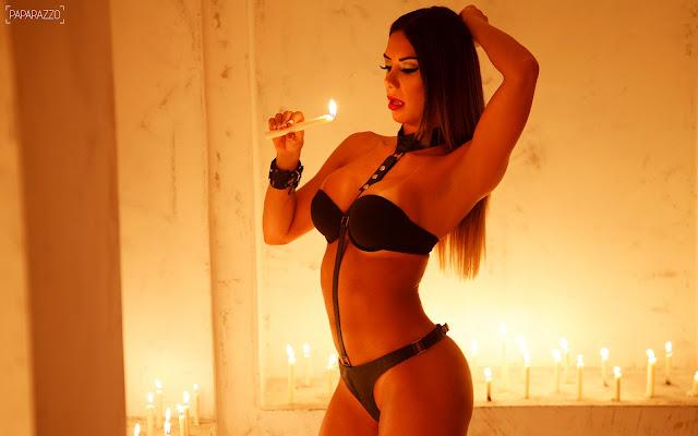 fotos de Graciela Carvalho nua em ensaio sensual para o Paparazzo