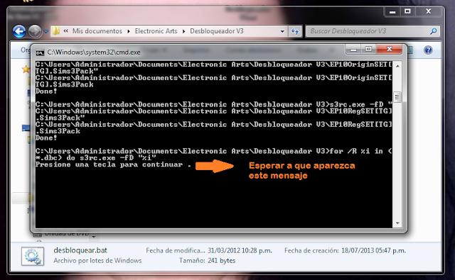 """[Tutorial]Instalar contenido STORE con """"desbloqueador.bat"""" Tuto2"""