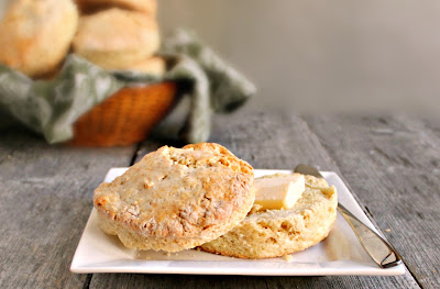 Sweet Irish Soda Bread Biscuits