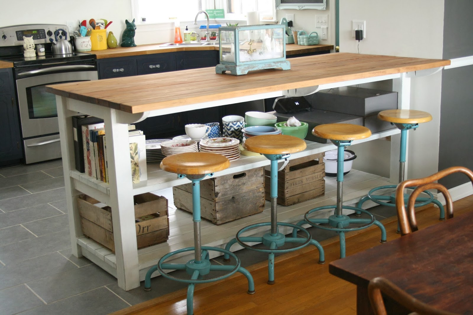 My Industrial Look Kitchen Island And That Time I Messed Up Cassie Bustamante