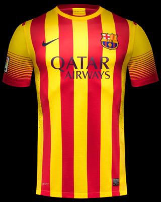segunda Camiseta FC Barcelona 2013 2014 Segona samarreta Barça comprar