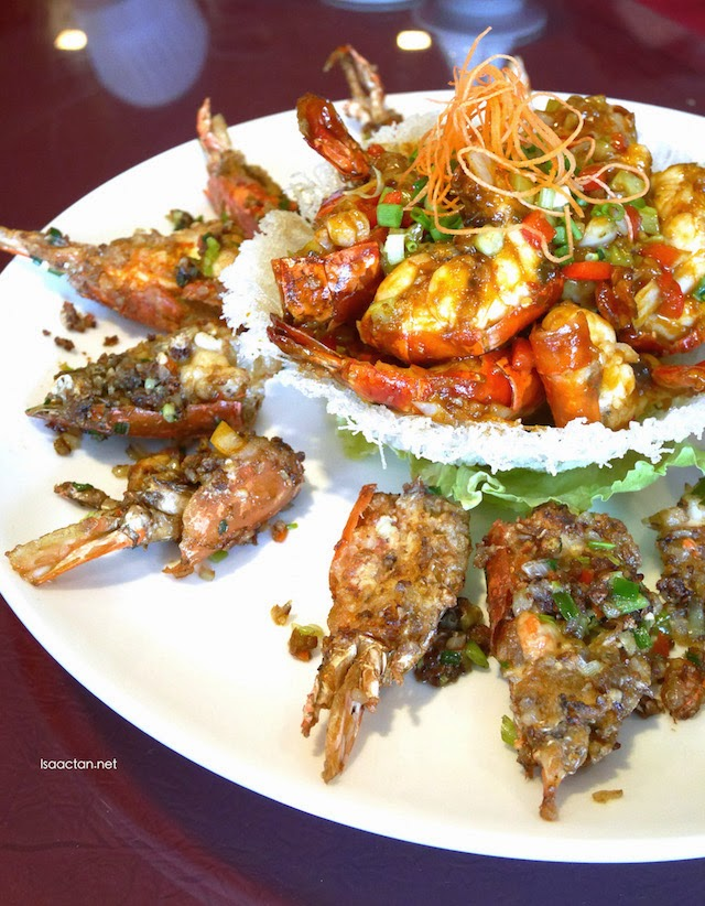 Fresh Water King Prawns and Tiger Prawns Combination