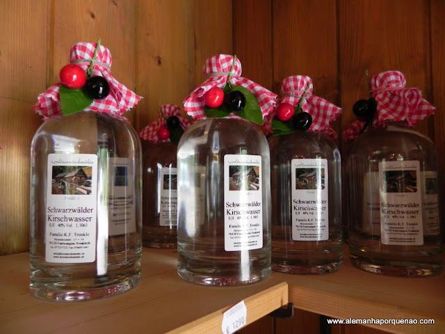 Aguardente de cerejas: bebida tradicional da Floresta Negra