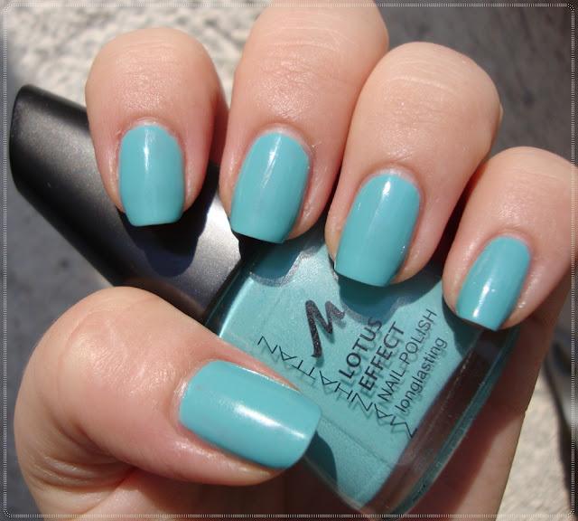 manhattan svijetli tirkizni plavi lak za nokte