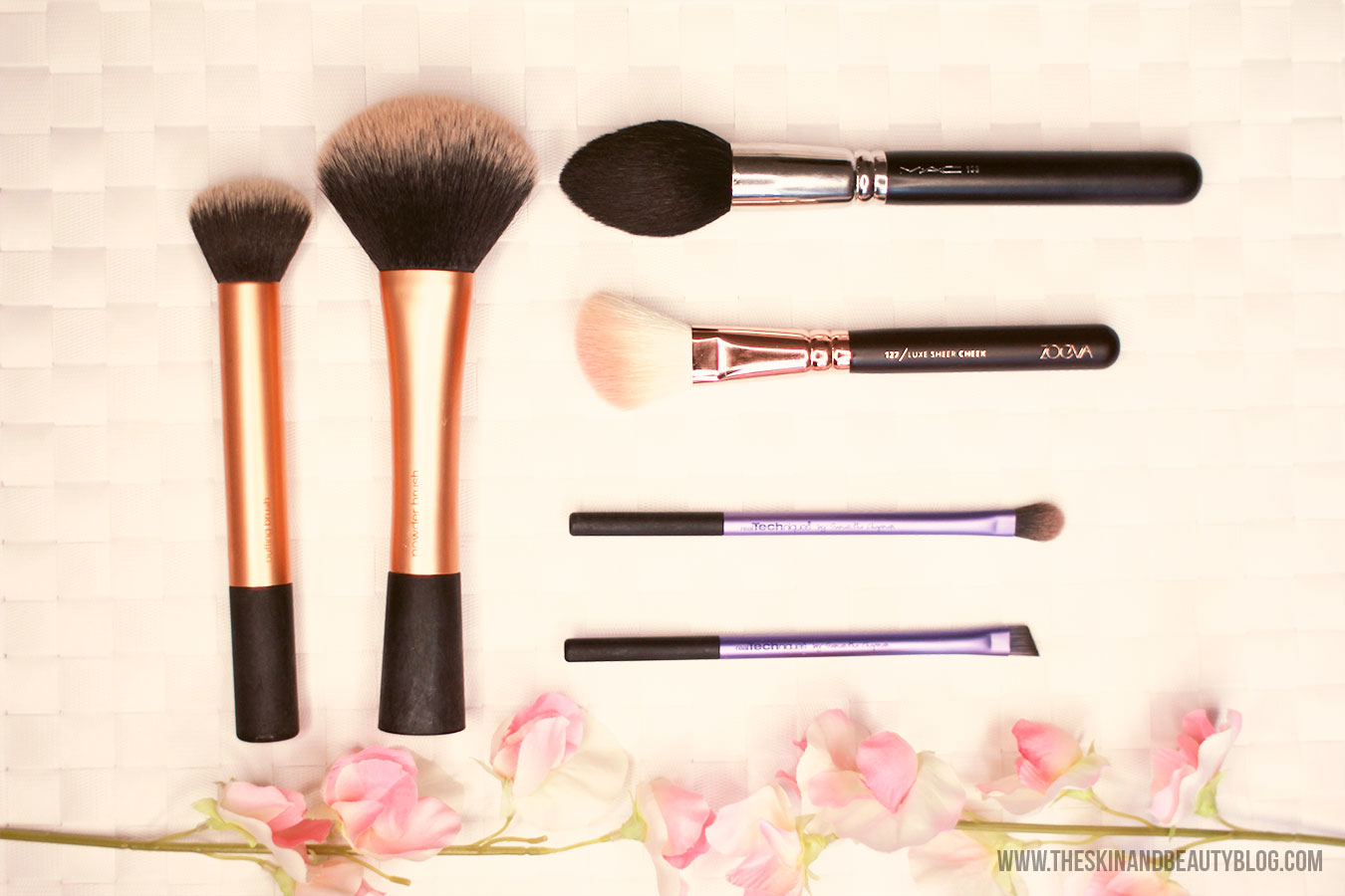 Makeup Brushes, Real Techniques, MAC, Zoeva, Review