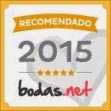 RECOMENDADO 2015 BODAS.NET