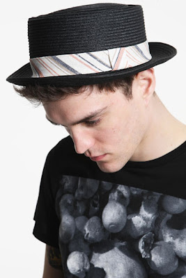 Black Boater Hat Urban Outfitters