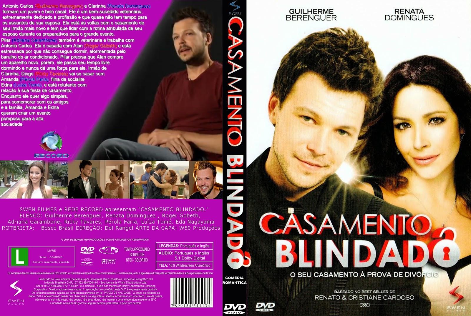 Capa DVD Casamento Blindado
