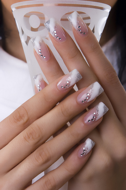 French Nail Manicure Designs Corner Nail Art