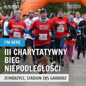 III Charytatywny Bieg Niepodległości w Zembrzycach