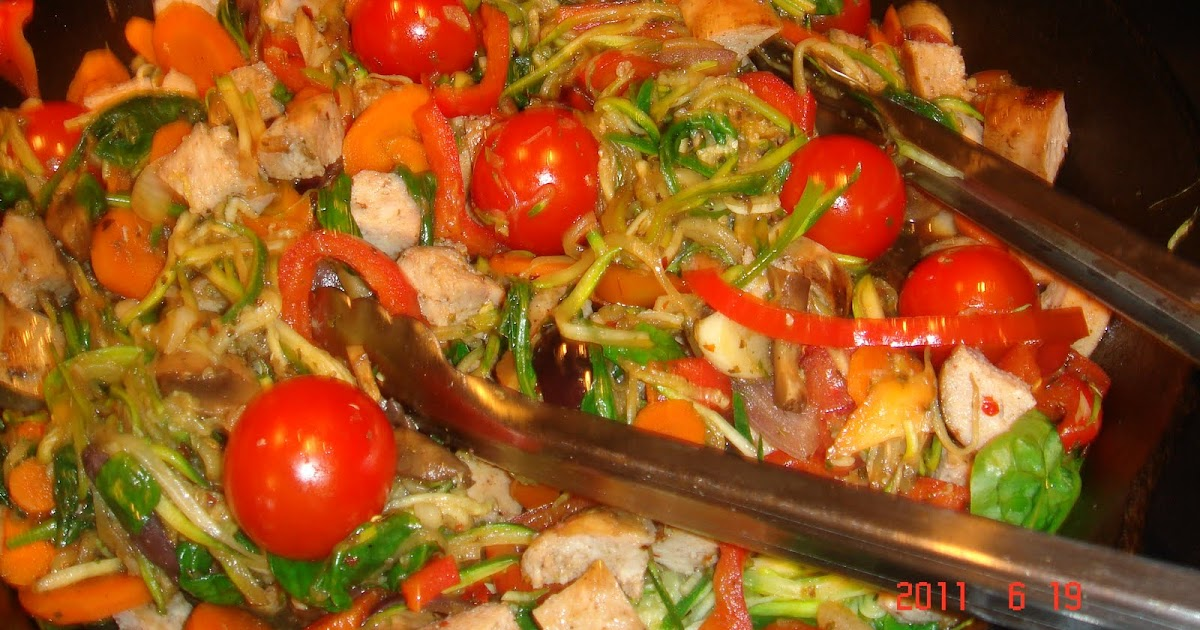 The health honey primal pasta primavera for Mandolin mediterranean kitchen