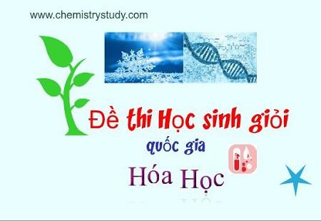 Đề thi quốc gia môn hóa học 1996-Hóa vô cơ