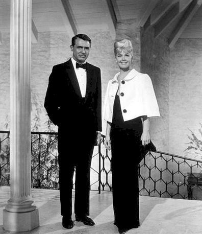 Doris Day and Cary Grant in That touch of mink