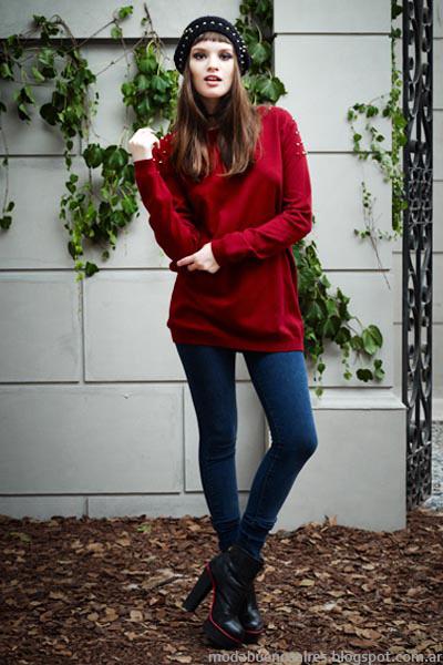 Moda otoño invierno 2014 Vov Jeans invierno 2014-Moda mujer invierno 2014.