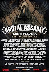 BRUTAL ASSAULT FESTIVAL 2016