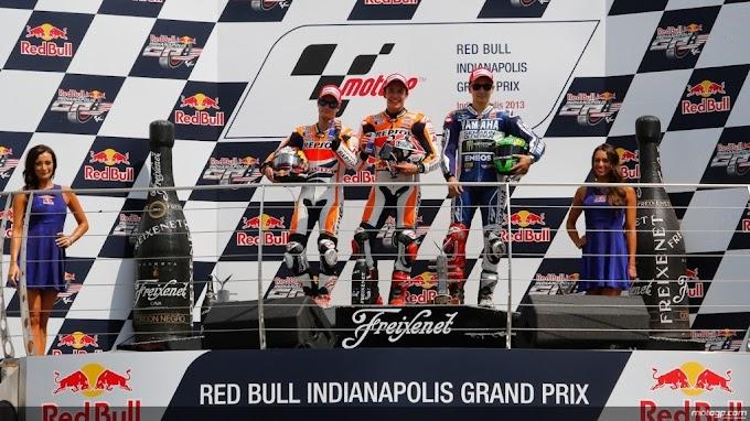 Klasemen Sementara MotoGP per Indianapolis 2013