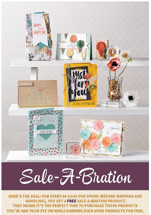 Sale-a-Bration 2016 Catalogue