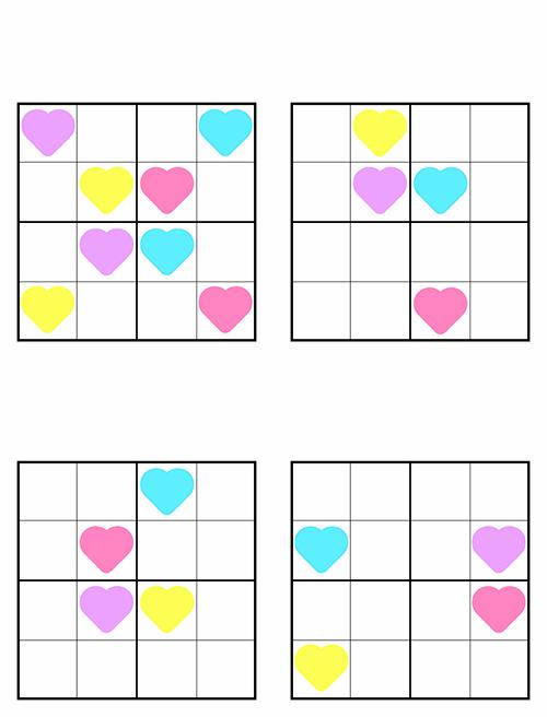 Sudoku puzzle pages