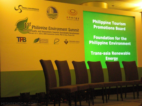 1st Philippine Environment Summit Launch
