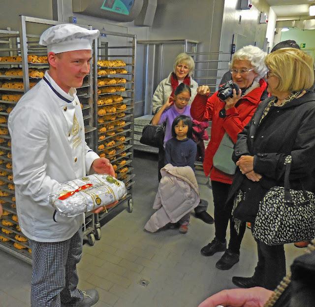 Dresden's Christstollen Bakery in Germany